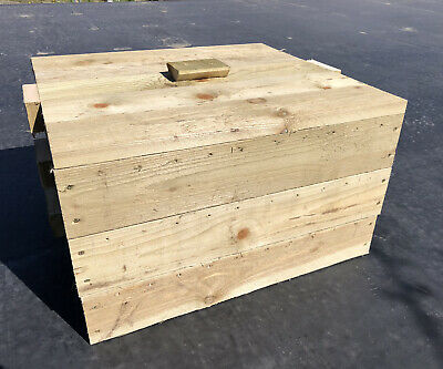 3 Tray Wormery Worm Farm Factory Organic Composting Bin Garden Bedding Stacking