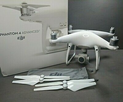 DJI Revenant 4 Advanced Quadcopter 4K Camera Drone Only - No Controller or Batter