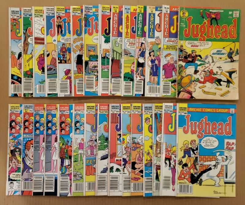 Jughead #225-351, Vol.2 #3,12 Lot of 29 Bronze, Copper Age Archie comics VF avg