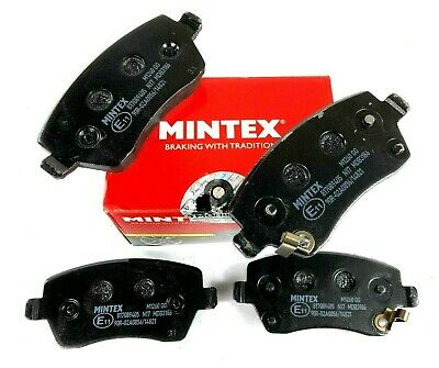 GENUINE MINTEX FRONT BRAKE PADS FOR NISSAN MICRA NOTE AND RENAULT MDB3186