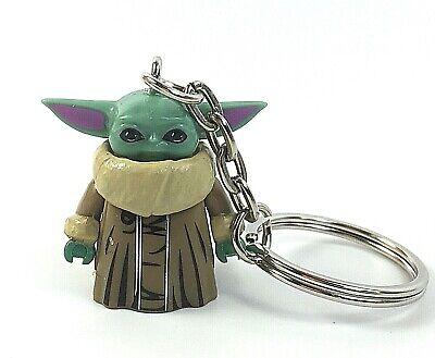 Baby Yoda Figure Keyring Star Wars Keyring Mini Bag Charm Mandalorian Keychain