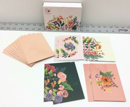 UWP Luxe Floral Pop Up Notecards Box of 8