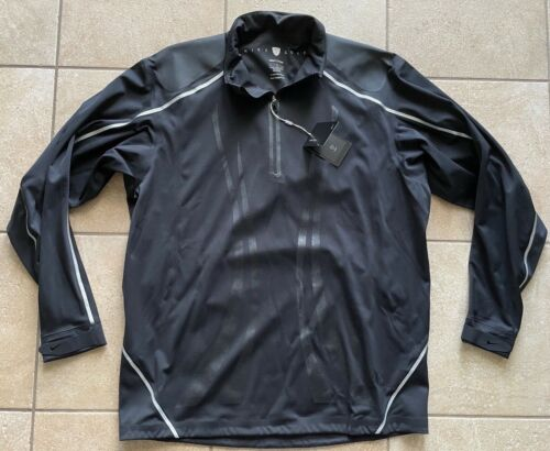 Nike Golf Storm-FIT ELITE Half-Zip Jacket Black/Silver-Large--RARE!!-NWT
