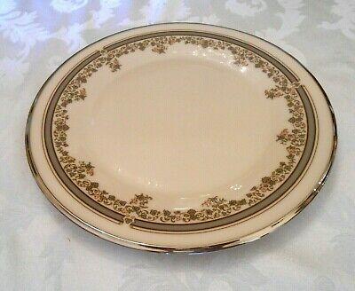 Lace Platinum Dinner - Lenox China Lace Point Pattern Platinum Trim 4 Dinner Plates 10 3/4