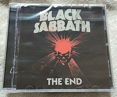 CD BLACK SABBATH THE END RARE!