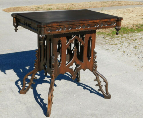 Gothic Center Lamp Table