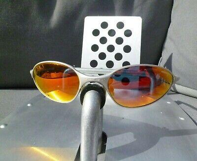 OAKLEY C WIRE 1.0  05-805 Silver-Fire Sunglasses A E square mars moon madman 2.0
