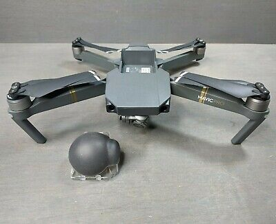 DJI Mavic Pro 4K Video Camera Quadcopter Drone ONLY - Flies & Outstanding Video