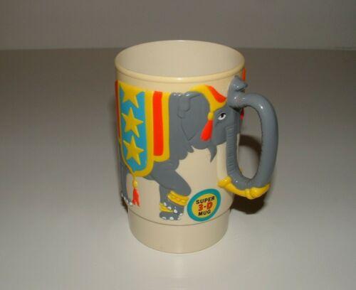 Ringling Bros. and Barnum & Bailey Circus Plastic Souvenir Mug, 1988, pre-owned