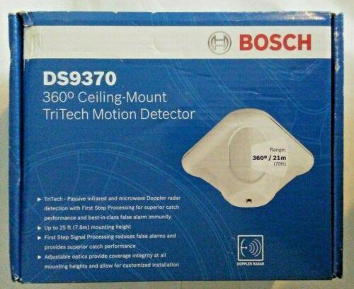 Bosch DS9370 360 Ceiling Mount TriTech Motion Detector, NEW
