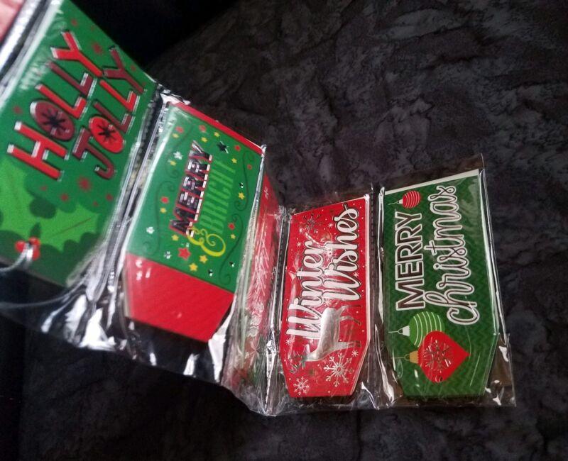 Christmas House 25 HOLIDAY GIFT TAGS - NEW! LQQK!!
