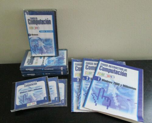 NEW - Curso De Computacion - Windows Internet Exp 5 Word 2000 - Spanish VHS CD