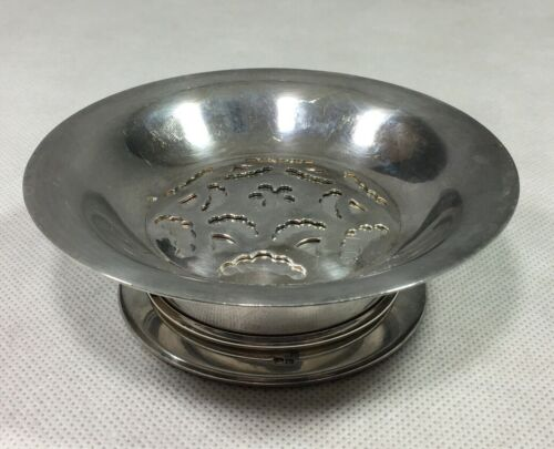 Coquillor Silver Plated Butter Curler Press Dish Depose France