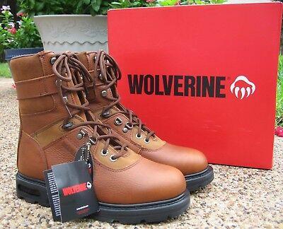 - NEW Mens Genuine Wolverine Brown 8