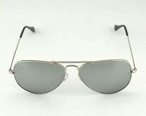 Ray-Ban RB 3025 Aviator Mirror W3277 Silver Frame/ Silver Mirror Glass Lens 58mm