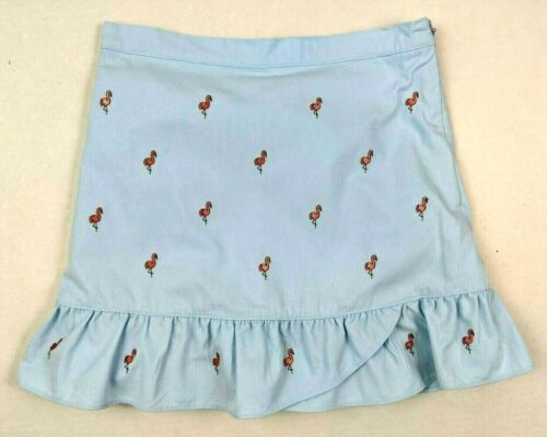 Gymboree Girls Flamingo Embroidered Ruffled Skort Skirt - Size 9