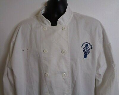 Le Cordon Bleu Paris Chef Coat Culinary Program Uniform Cooking Jacket Xl Xxl