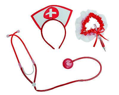 Mot - Kostüm Zubehör sexy Krankenschwester Karneval Fasching (Sexy Krankenschwester Kostüm Zubehör)