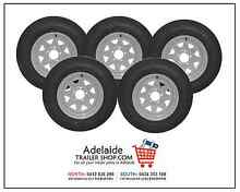 BRAND NEW TRAILER RIMS AND TYRES GLENGOWRIE Glengowrie Marion Area Preview