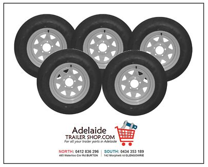 SPECIAL! NEW TRAILER RIMS & TYRES (SOUTH - MARION) Glengowrie Marion Area Preview
