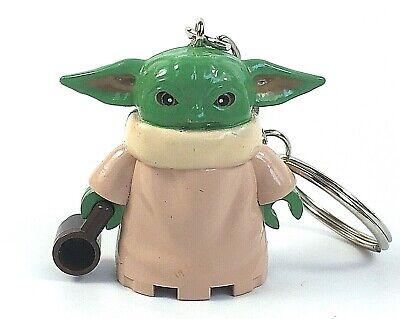 Baby Yoda Figure Keyring Star Wars Keyring Bag Charm Mandalorian Keychain UK