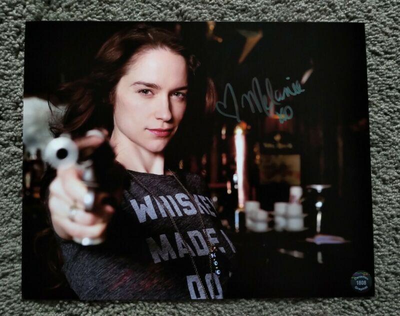 Melanie Scrofano Hand Signed Autographed 8x10 Wynonna Earp Photo