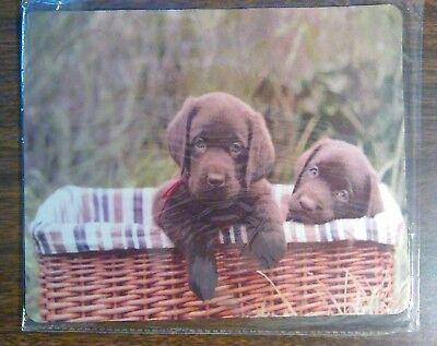 Chocolate Lab Puppy Mouse Pad (Lab Mouse Pad)