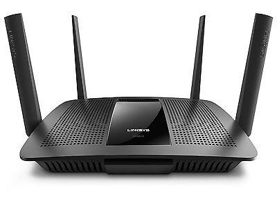 Linksys EA8500-UK Max-Stream Dual Band 4 x 4 MU-MIMO AC2600 Smart Wi-Fi Router