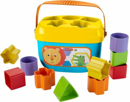 My First colors and shapes Blocks Babys Playing & Learning Sort Fine Motor