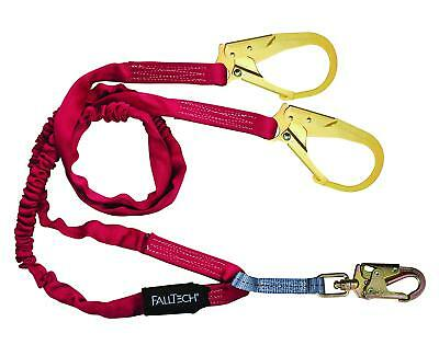 Falltech 8247y3 Ironman Y-leg 6-foot Shock Absorbing Lanyard With Rebar Hook