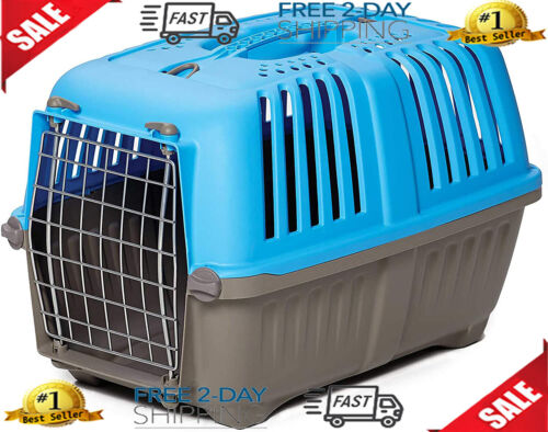Cage Crate Portable Small Dog Kennel Hard Sided