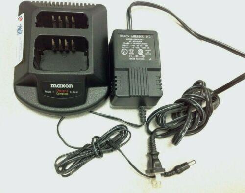 MAXON QPA1125 Dual Slot Charger, QPA-1411 Power AC Adapter