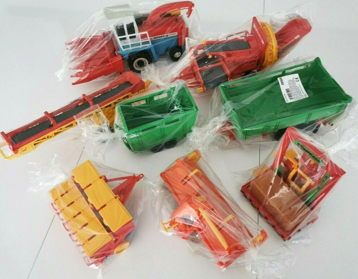 Bruder Raritäten Sammler Anhänger Zubehör Traktor Raritäten Modell Auto Bagger