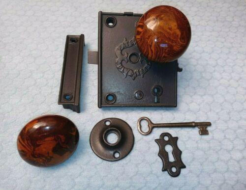 Rim Lock Restored 1863 Norwalk Complete