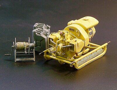 PLUS MODEL #421 WWII German Power Generator für Diorama in 1:35