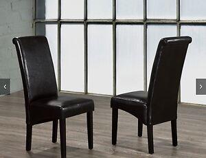 Parsons chairs espresso colour- 6 brand new in a box