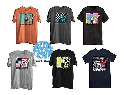 New Mtv Retro Graphic Short Sleeve T Shirt