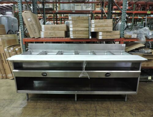 Randell Commercial Gas 6 Pan Steam Table
