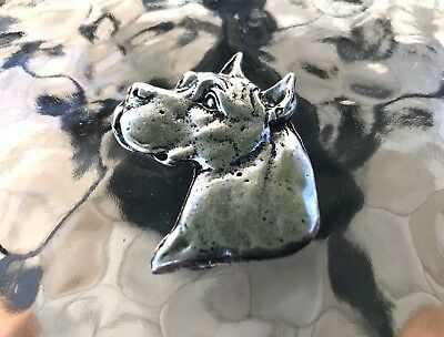 PUREBRED ANIMAL PET JEWELRY 1 DOG BOXER PEWTER PIN ALL NEW.