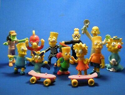 Lot of Simpsons Toys- Halloween Burger King, Action Figure Maggie w/ Ice Cream - Halloween Ice Cream Games
