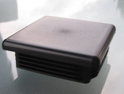 4 Square Tubing Plastic Plug 4 Inch End Cap 4x4 Insert Post Pipe Tube 4-8 Ga