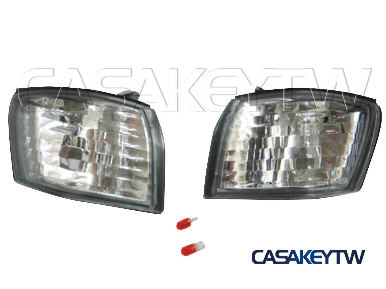 SMOKE BUMPER TURN SIGNAL LIGHTS LAMP FOR 1997-1999 NISSAN S14 SILVIA 200SX