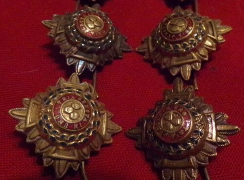 Lot of 6 WWII British Officer Pip Badge