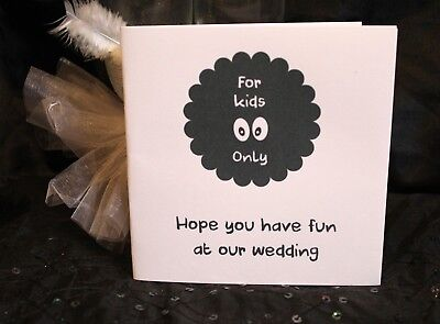 Childrens Kids Wedding Activity Pack Book Favour  6x6inch AB20