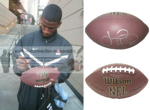 Justin Hunter Signed NFL Football Steelers Titans Bills Dolphins Proof Autograph