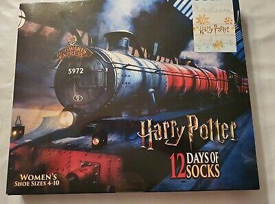 Women's HARRY POTTER Socks 12 Days of Socks Advent Calendar Hogwarts Express