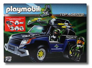 PLAYMOBIL® Top Agents 4878