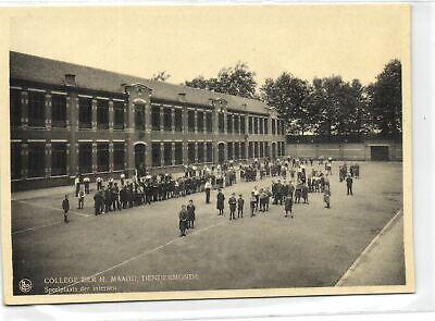 1 Postcard Dendermonde College Der H. Maagd - Steelplaats der internen