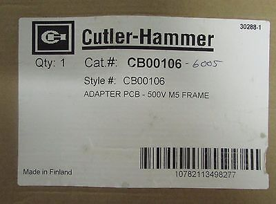 Eaton Cutler Hammer Cb00106 Adapter Pcb Board Sv9000 M5 Frame Drive