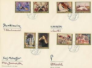 Poland FDC (Mi. 1941-48) Paintings #4 - <span itemprop=availableAtOrFrom>Bystra Slaska, Polska</span> - Poland FDC (Mi. 1941-48) Paintings #4 - Bystra Slaska, Polska